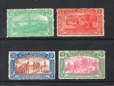 New Zealand 1906 Christchurch Set - DG MH - SG# 122-125   Cats $461.00 N/R!