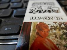 SEXY girl erotic match folder matchbox DICKS LAST RESORT DALLAS  1980s era