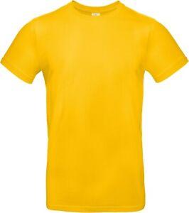 T-Shirt B&C Excact 190 sonnenblumengelb