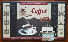 COFFEE CUP CAFE BEANS GRINDER UTENSILS KITCHEN CHEF MAT ANTI FATIGUE CUSHION RUG