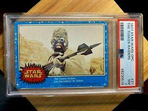 1977 O-Pee-Chee (OPC) Star Wars #21 The Tusken Raiders PSA 7 NM (Low Pop)