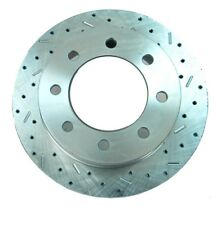 Disc Brake Rotor-Rotor - Big Bite Cross Drilled and Slotted - Right 23174AA3R