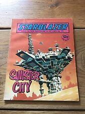 Vintage Starblazer DC Thomson Comics no 19 Sinister City