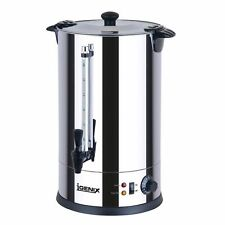 New Igenix 8.8L Stainless Steel Commerical Catering Tea Urn/Hot Water Boiler A17