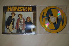 Hanson - If only. CD-Single (CP1706)