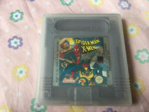 Spiderman Xmen Gameboy Game! Look At My Other Games!