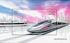 CHINA 2017-29 HIGH SPEED RAILWAY DEVELOPEMENT -- SOUVENIR SHEETLET