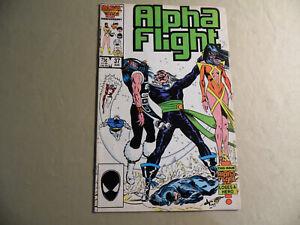 Alpha Flight #37 (Marvel 1986) Free Domestic Shipping