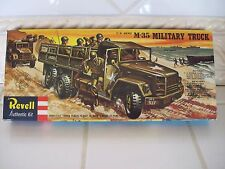 "Vintage Revell M-35 Military Truck Kit ""1958"" 1/40 Scale H-537 - 'S' Series"