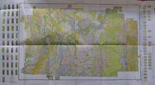Folded Color Soil Survey Map  Gordon County Georgia Calhoun Ranger Lilypond 1913