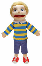The Puppet Company - Medium Buddies - Light Skin Tone Boy