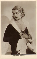 """promotional photo card of """" constance bennett """""""