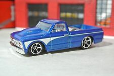 Hot Wheels '67 Chevy C-10 Pickup Truck - Blue - Loose - 1:64