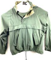 Timberland Weathergear Green Pull Over Windbreaker Jacket Mens XL RG100169