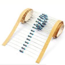 1500pc 1% 1/6W Watt Metal Film Resistor Resistance 1R to 1M Ohm/Ω 30 Assorts Kit