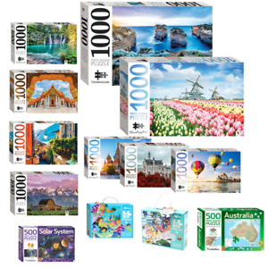 45-1000 Pieces Jigsaw Hinkler Puzzle Adult Kid Toys Indoor Activity Game Fun