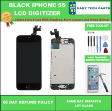 Pantalla Para Iphone 5S Negro LCD digitalizador de pantalla táctil de repuesto montado