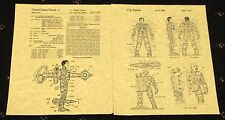 "PATENT ART PRINT 8.5"" X 11"" READY TO FRAME CENTURIONS ACTION FIGURE"