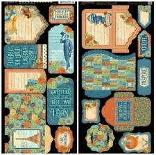 Graphic 45 World'S Fair Collection Cardstock Die-Cuts