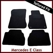 Mercedes E-Class W210 1995-2002 Tailored Carpet Car Floor Mats BLACK