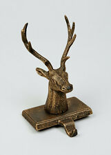 New Modern Stag Head Christmas Stocking Holder Hook Mantelpiece NTM
