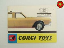 Corgi Toys Catalogue late 1967-68 GERMANY edition **RARE**