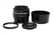 Sony SAL 35mm f/1.8 SAM DT Lens for Sony A-Mount SAL35F18 + Filter