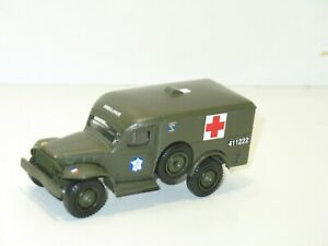 Solido Dodge Wc 54 Ambulance Military of The 2iem DB French