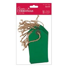 DOCrafts Create Christmas Tags (20pk) - Green