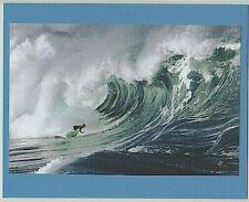 "20 Foot Waimea Bay Fantasy Shorebreak Wave Oahu Giclee Photograph On 8X10"" Matt"