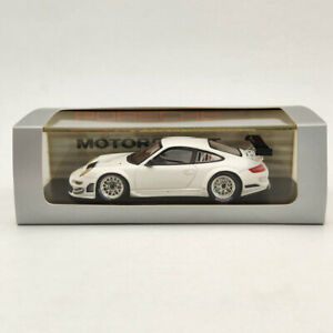Spark Model Porsche 911 GT3 RSR White Resin Limited Edition Collection 1/43