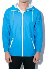 ⭐ £75 Mens Rains Breaker Waterproof Jacket in Blue size M / L Coat Medium Large