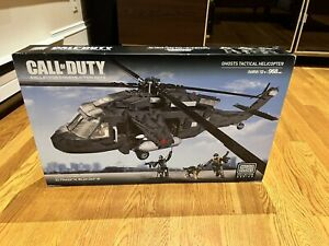 Mega Bloks 06858 Call of Duty Ghosts Tactical Helicopter SEALED