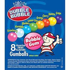 Dubble Bubble Gumballs Vending Size Gum Balls 300 ct