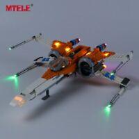 LED Light Up Kit For LEGO 75273 Star Wars Poe Dameron's X-wing Fighter Lighting
