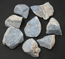 1/2 lb Bulk Blue Rough Natural Angelite Crystal Stone Raw Crystal Mineral Peru