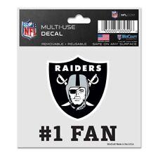 Oakland Raiders Wincraft NFL #1 Fan Logo Decal FREE SHIP!