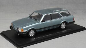 Neo Models Ford Granada Ghia Estate in Blue Metallic 1984 Mk2 MkII 44257 1/43NEW
