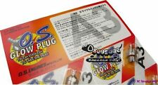 O.S. OS Engine Glow Plug No.6 (A3)  1pc FreeShipping