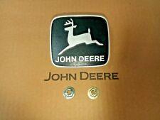 JOHN DEERE OEM Medallion Fits  316 318 322 330 332 420 Part # M76645 M48244