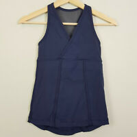 LULULEMON | Womens Navy Tank Top  [ Size AU 8 or US 4 ]