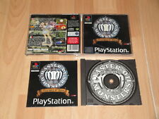 MASTER OF MONSTERS DISCIPLES OF GAIA DE SYSTEMSOT PARA SONY PS1 USADO COMPLETO