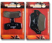Harley F+R Brake Pads FLS Softail Slim FXCW ROcker FXS Blackline FXSB Breakout >