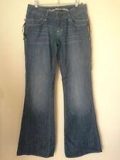 Cotton Mid-Rise Wide Leg Machine Washable Jeans for Women