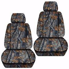 Fits 2007-2018 Suzuki Grand Vitara  front set car seat covers  camouflage