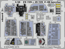Eduard Zoom fe729 1/48 McDonnell f-4d ACCADEMIA fantasma