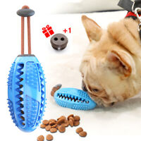 Pet Dog Toothbrush Chewing Toy Brush Stick Teeth Cleaning Treat Food Dispenser
