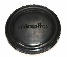 Minolta 55mm Plastic Lens Cap Front Camera Cap Black Body Cover Protect