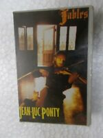 JEAN LUC PONTY FABLES RARE orig CASSETTE TAPE INDIA CLAMSHELL