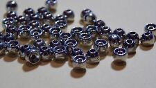 (20) Tungsten Fly Tying Beads Nickel of 1/16 Free Shipping